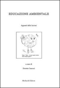 Educazione ambientale. Appunti delle lezioni