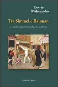 Tra Simmel e Bauman. Le ambivalenti metamorfosi del moderno