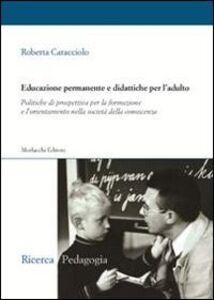 Educazione permanente e didattiche per l'adulto