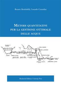 Metodi quantitativi per la gestione ottimale delle acque