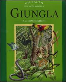 Antondemarirreguera.es Un Salto nel mondo della giungla. Libro 3D Image