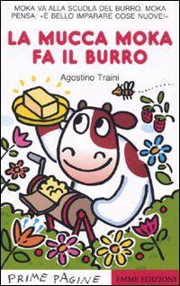 La mucca Moka fa il burro