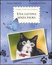 Una gattina senza paura