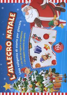 Capturtokyoedition.it L' allegro Natale. Con adesivi Image