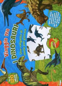 Viaggio tra i dinosauri. Con adesivi. Ediz. illustrata