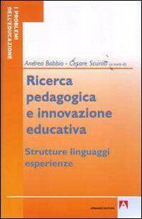 Ricerca pedagogica e educazione educativa