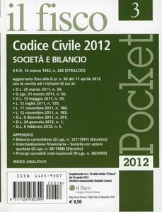 Pocket (2012). Vol. 3: Codice civile.