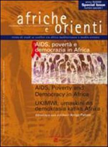 Afriche e Orienti (2009). Vol. 1: Aids, povertà e democrazia in Africa.