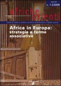 Africa in Europa (2009) vol. 1-2: Strategie e forme associative
