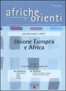 Afriche e Orienti (2011) vol. 1-2: Unione Europea e Africa.pdf