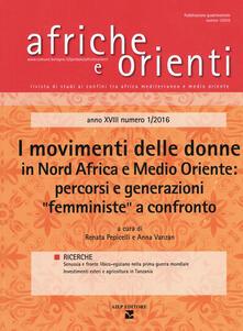 Fondazionesergioperlamusica.it Afriche e orienti (2016). Vol. 1: movimenti delle donne in Nord Africa e Medio Oriente: percorsi e generazioni «femministe» a confronto, I. Image