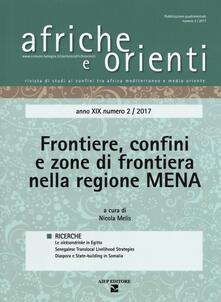Filippodegasperi.it Afriche e orienti (2017). Vol. 2: Frontiere, confini e zone di frontiera nella regione MENA. Image