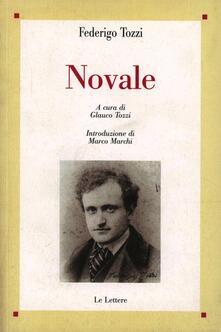 Novale - Federigo Tozzi - copertina