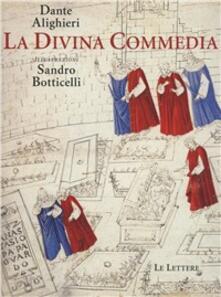 La Divina Commedia illustrata da Sandro Botticelli - Dante Alighieri - copertina