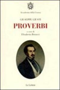 Proverbi. Con DVD