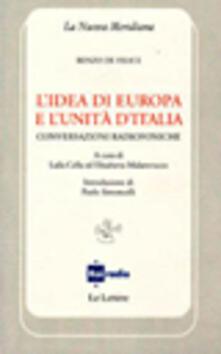 Voluntariadobaleares2014.es L' idea di Europa e l'unità d'Italia. Conversazioni radiofoniche Image
