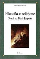 Filosofia e religione. Studi su Karl Jaspers