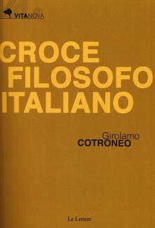Aboutschuster.de Croce filosofo italiano Image