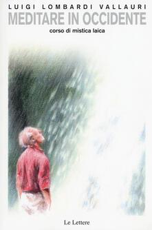 Warholgenova.it Meditare in Occidente. Corso di mistica laica Image