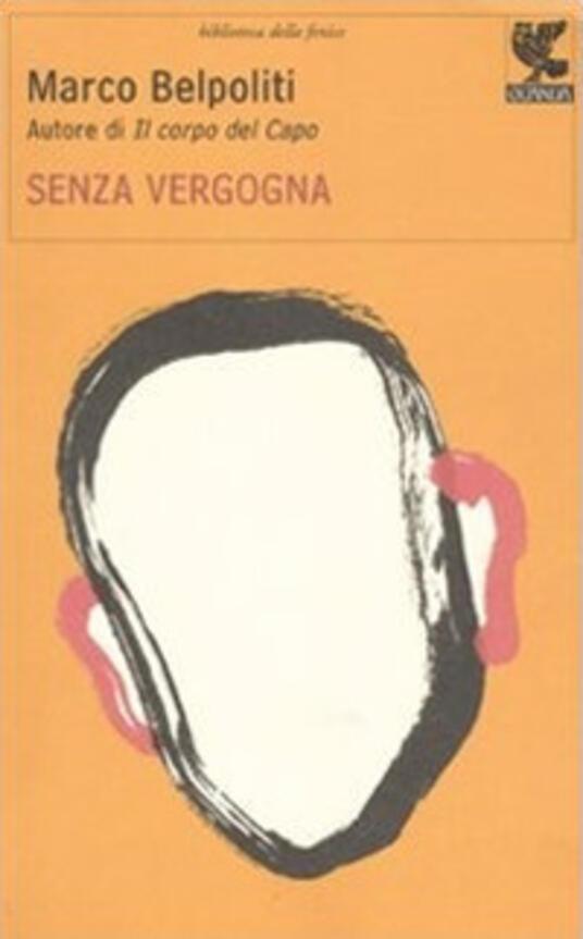Senza vergogna - Marco Belpoliti - copertina