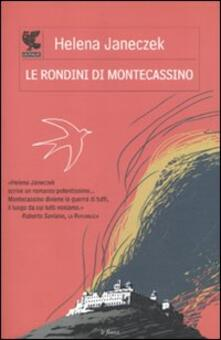 Le rondini di Montecassino - Helena Janeczek - copertina