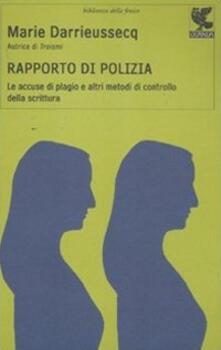 Grandtoureventi.it Rapporto di polizia. Le accuse di plagio e altri metodi di controllo della scrittura Image