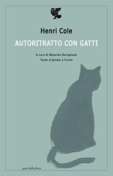 Aboutschuster.de Autoritratto con gatti. Testo originale a fronte Image