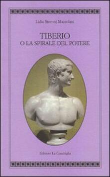 Writersfactory.it Tiberio o la spirale del potere Image
