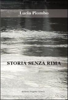 Storia senza rima - Lucia Piombo - copertina