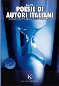 Poesie di autori italiani. Vol. 5