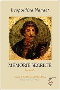 Memorie secrete. Giornale
