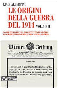 Le origini della guerra del 1914. Vol. 2: La crisi del luglio 1914. Dall'attentato di Sarajevo alla mobilitazione generale dell'Austria-Ungheria.