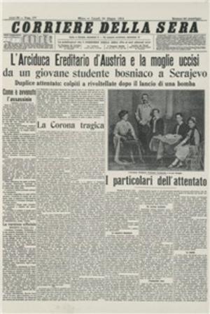 Le origini della guerra del 1914