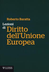 Lezioni di diritto dell'Unione Europea