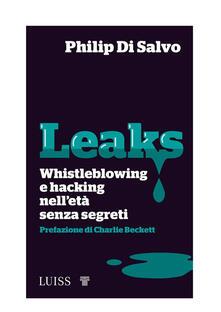 Leaks - Philip Di Salvo - ebook