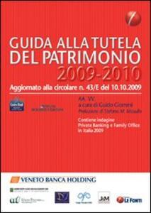 Guida alla tutela del patrimonio 2009-2010