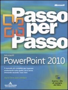 Libro Microsoft PowerPoint 2010 Joyce Cox Joan Lambert