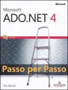 Libro Microsoft ADO.Net 4.0. Passo per passo Tim Patrick