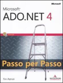 Recuperandoiltempo.it Microsoft ADO.Net 4.0. Passo per passo Image