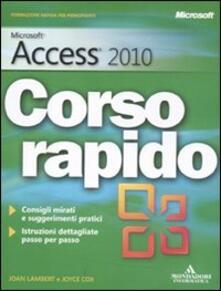 Fondazionesergioperlamusica.it Microsoft Access 2010. Corso rapido Image