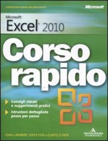 Microsoft Excel 2010. Corso rapido.pdf
