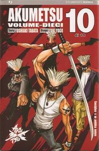 Akumetsu. Vol. 10