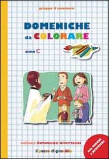 Voluntariadobaleares2014.es Domeniche da colorare. Anno C Image