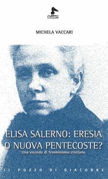 Antondemarirreguera.es Elisa Salerno: eresia o nuova pentecoste? Una vicenda di femminismo cristiano Image