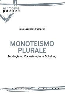 Antondemarirreguera.es Monoteismo plurale. Teologia ed ecclesiologia in Schelling Image