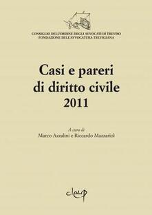 Premioquesti.it Casi e pareri di diritto civile 2011 Image