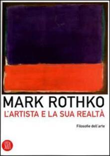 L' artista e la sua realtà - Mark Rothko - copertina
