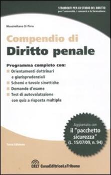 Milanospringparade.it Compendio di diritto penale Image