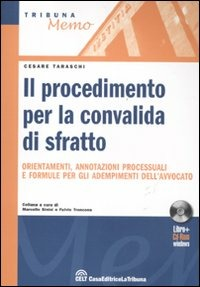 Il Il procedimento per convalida di sfratto. Con CD-ROM - Taraschi Cesare - wuz.it