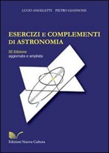 Esercizi e complementi di astronomia